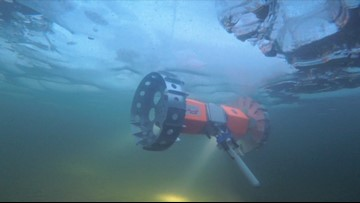 This Rover Will Drive Upside Down Under Sea Ice in Antarctica