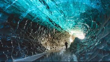 Mesmerizing Ice Caves Hide Beneath Europe's Largest Glacier