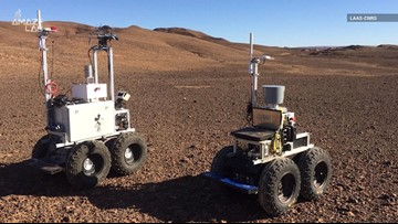 New Self-Driving Rovers Tested for Mars in Morocco Desert
