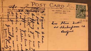 Reunited! Soldier's Heartbreaking Postcard Returns To Family After 104 Years!