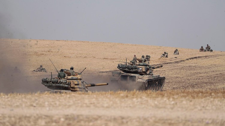 Turkey rejects cease-fire on Syrian Kurds, defying NATO allies