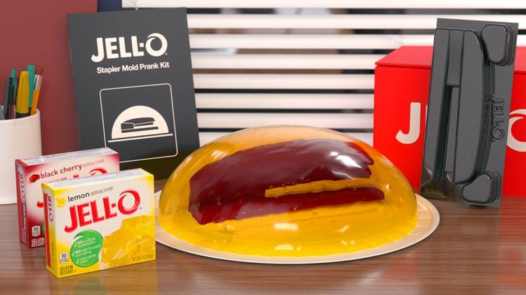 Jell-O giving away 100 stapler prank molds from 'The Office'