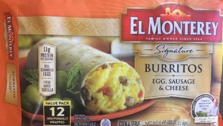 El Monterey Signature Burrito Egg, Sausage & Cheese