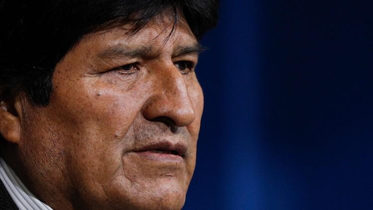 Bolivia Elections President Evo Morales