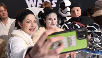 Stars, fans converge for 'Rise of Skywalker' premiere