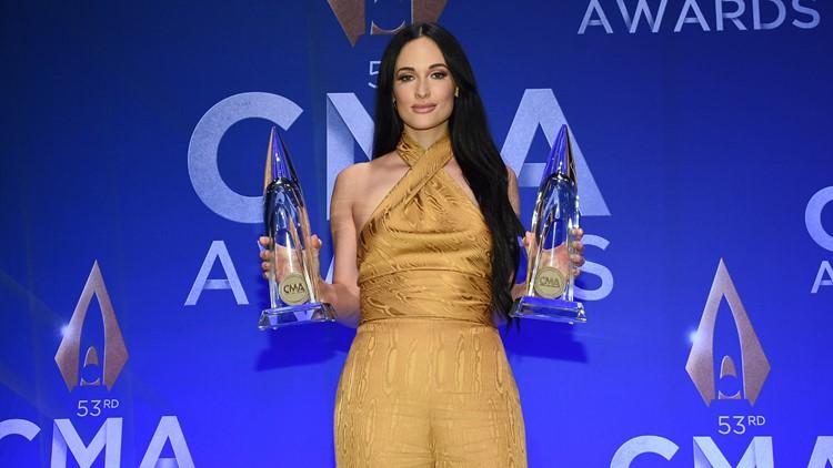 Kacey Musgraves 53rd Annual CMA Awards - Press Room
