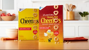 Cheerios introducing heart-shaped oats