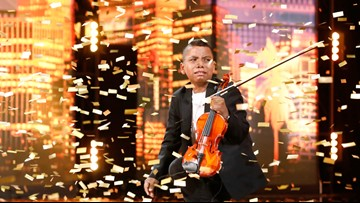 11-year-old cancer survivor earns Simon Cowell's golden buzzer on AGT