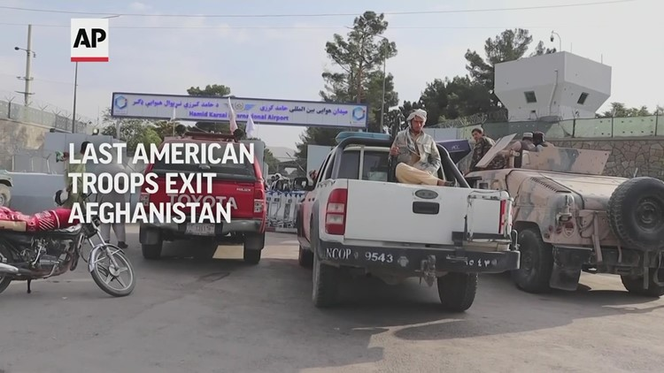 Last American troops exit Afghanistan