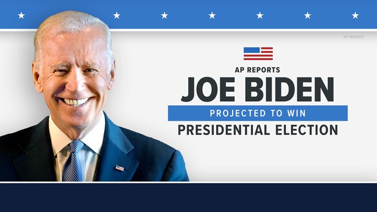 Joseph R. Biden Jr. elected 46th president of the United States