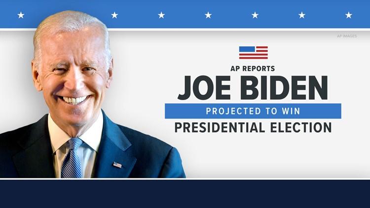 Joseph R. Biden Jr. elected 46th president of the United States