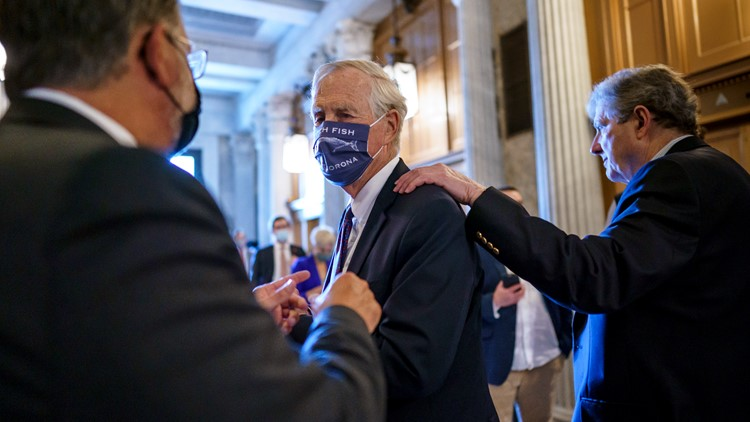 $1 trillion infrastructure plan clears another Senate hurdle