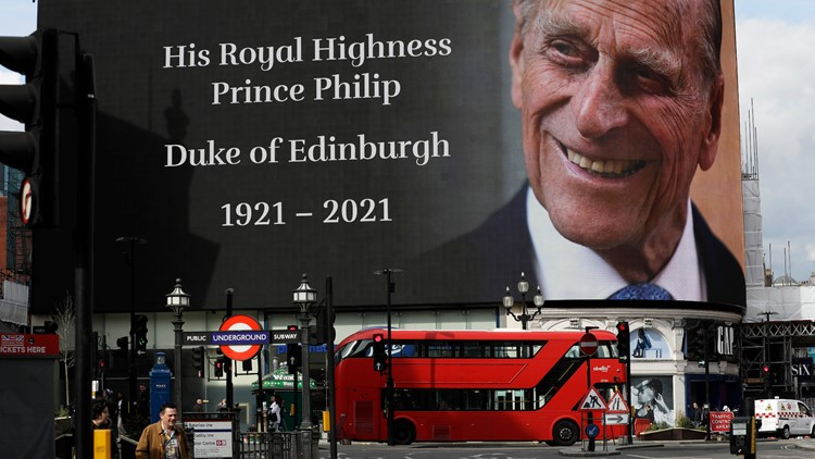 Order of Service for the funeral of Prince Philip