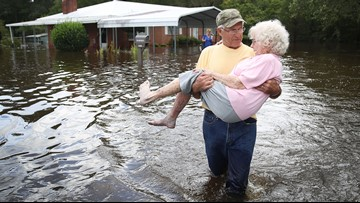 Florence: Flooding to swamp Carolinas for days – or even weeks