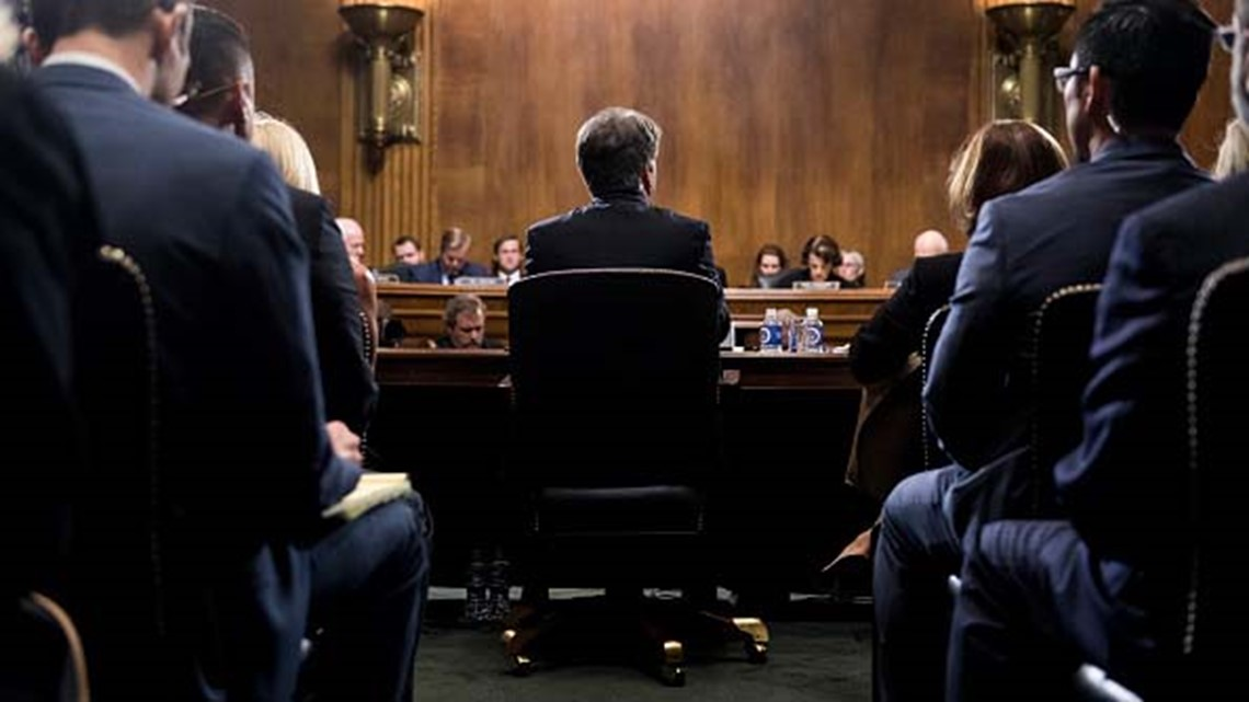 Four undecided Senators meet privately on Kavanaugh vote: 'There's some concerns'