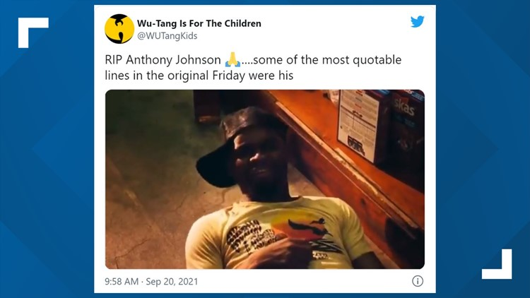'Friday' actor Anthony Johnson dead at 55
