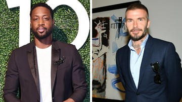 Dwyane Wade, David Beckham shamed for kissing daughters on the lips
