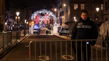 At least three dead, 12 wounded in terror attack near famed Christmas market in France