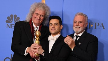 'Bohemian Rhapsody,' 'Green Book' take top awards at Golden Globes
