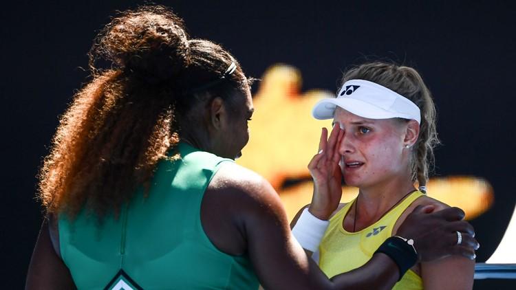 'Don't cry': Serena Williams consoles Australian Open foe