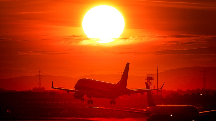 Shamed from flying? Some climate change-conscious people staying grounded