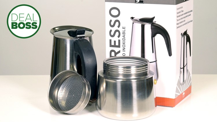 This simple $25 espresso maker is a nostalgic throwback that makes great coffee
