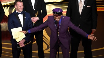 Spike Lee wins first-ever Oscar for 'BlacKkKlansman' in best adapted screenplay
