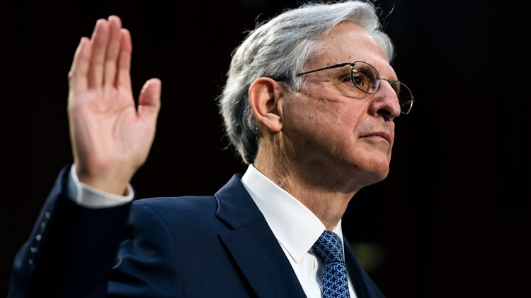 AG nominee Merrick Garland vows Capitol riot will be top priority
