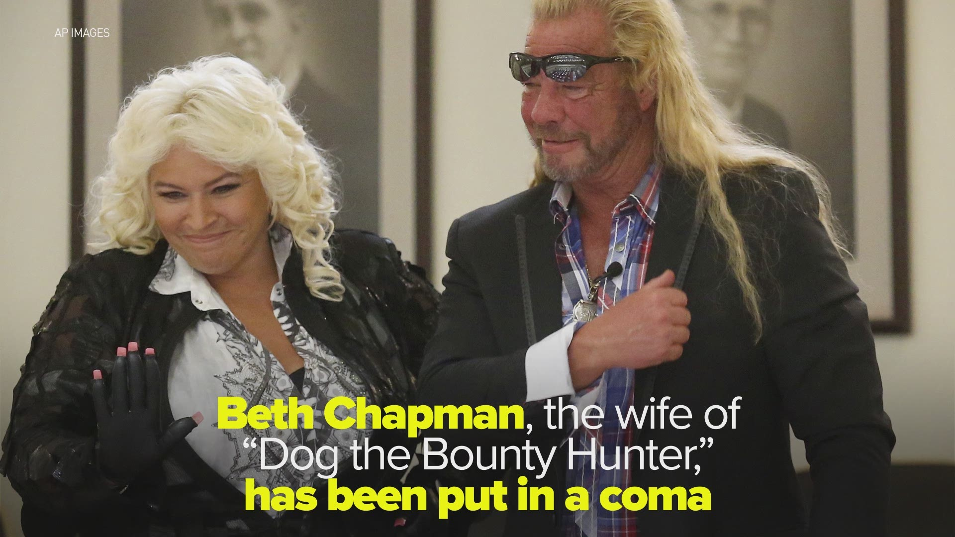 Beth Chapman Wife Of Dog The Bounty Hunter Placed In A Coma