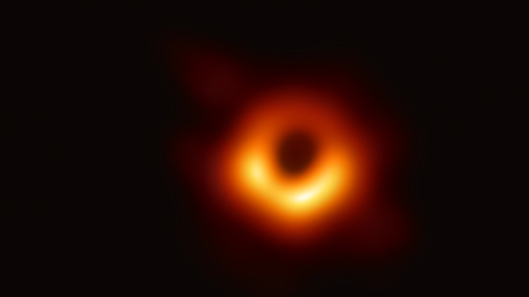First photo of black hole