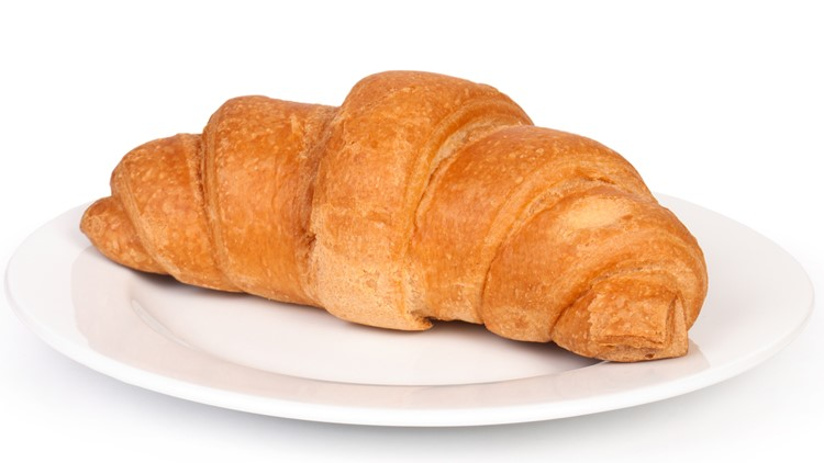 Mysterious 'creature' stuck in tree turns out to be a croissant