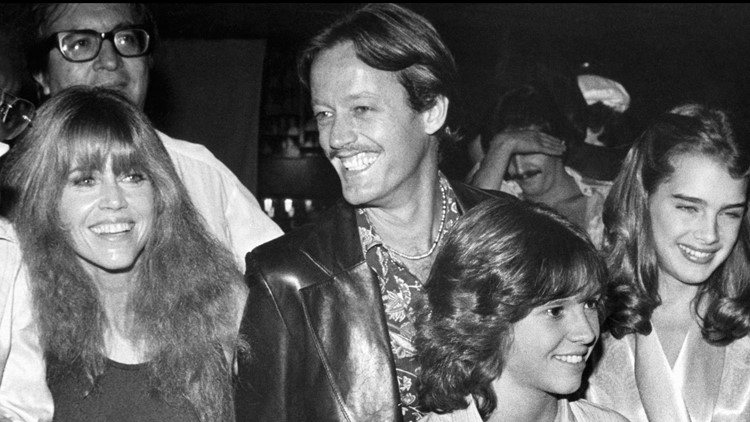 Jane Fonda Halloween 1978 with Peter Fonda
