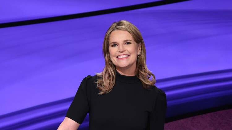 'TODAY' co-anchor Savannah Guthrie to guest host 'Jeopardy!'