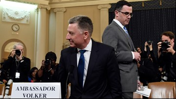Impeachment hearing continues with Volker, Morrison testimony