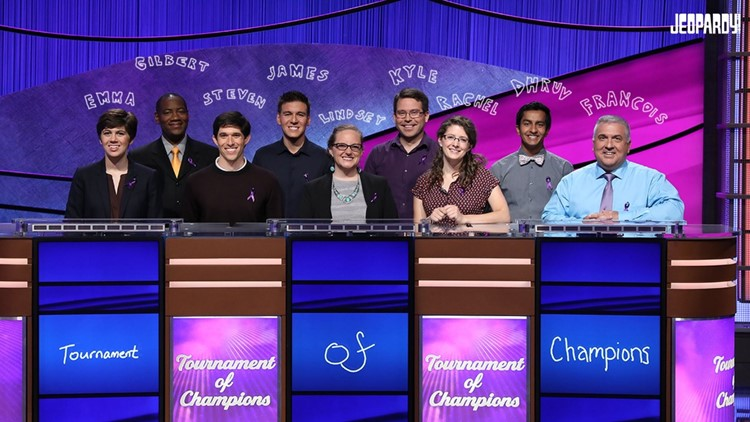 Tournament Of Champions semifinalists! Jeopardy