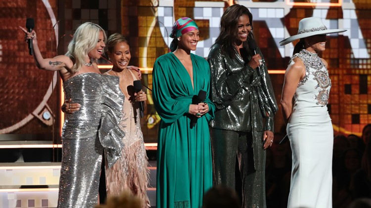 61st Annual Grammy Awards michelle obama