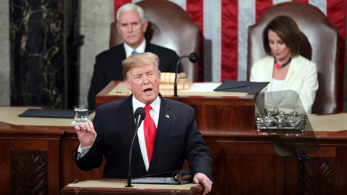 VERIFY: Fact-checking Trump's State of the Union speech