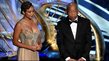 Rep. John Lewis receives standing ovation at The Oscars