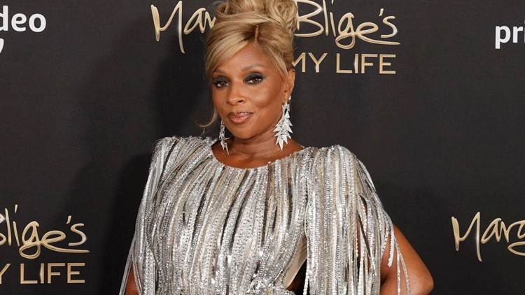 Mary J. Blige Stuns in Silver as She Reflects on Her 'Emotional Journey' at 'My Life' Doc Premiere (Exclusive)