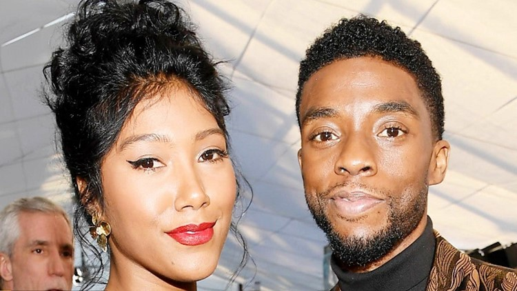 Chadwick Boseman's Wife Gives Emotional Speech After Posthumous Critics Choice Award Win