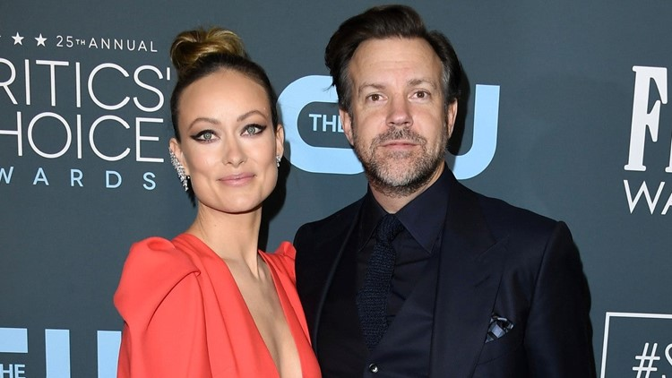 Jason Sudeikis Thanks Olivia Wilde for 'Ted Lasso' TV Show Idea at 2021 Critics Choice Awards