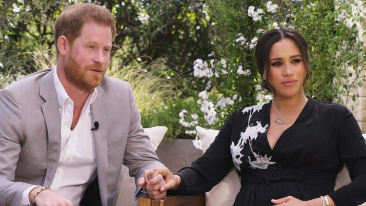 Meghan Markle and Prince Harry's Son Archie Makes Rare Appearance During Oprah Winfrey Interview