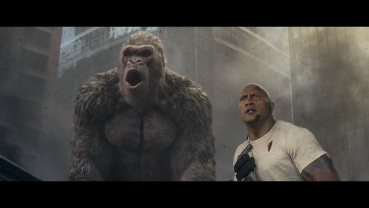 Rampage gorilla