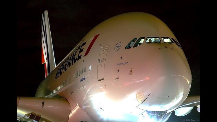 Air France A380 Denver