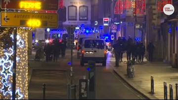 Gunman goes on shooting rampage at Christmas market in France