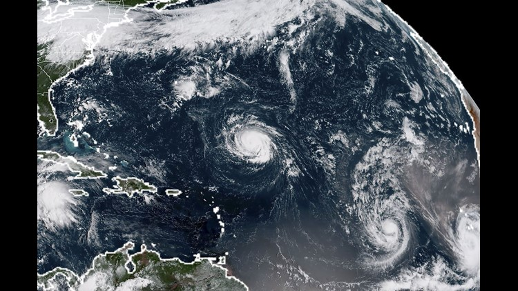 Intensifying Hurricane Florence poses threat to US East Coast