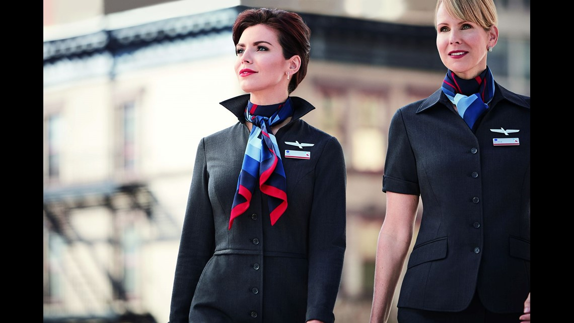 cf543a51a0d6fa American Airlines  flights attendants will get new uniforms in this design.