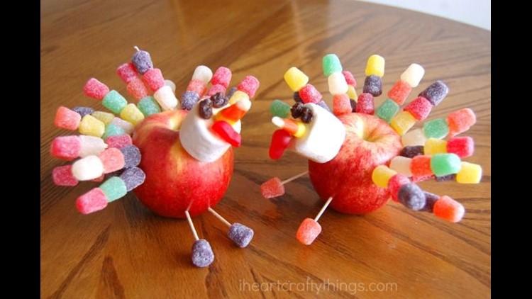 Apple Turkey Snack