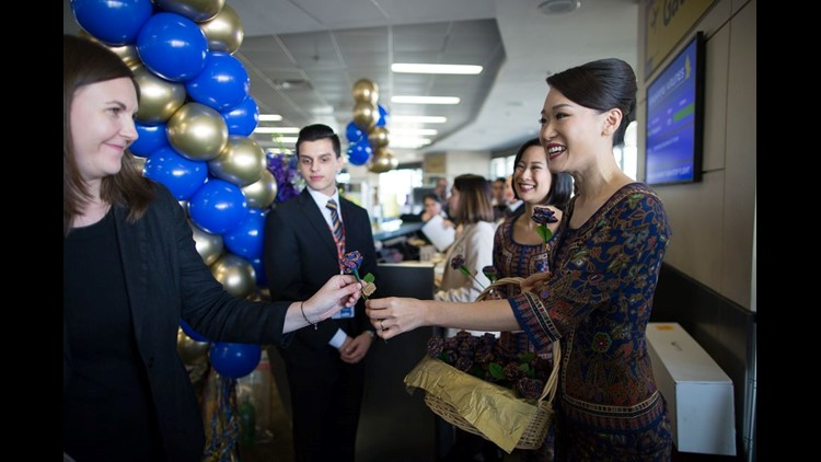 Singapore Airlines reclaimed bragging rights for the world's longest flight this week as it re-launched nonstop service between Singapore and Newark.