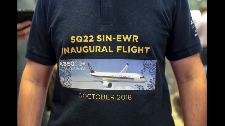 Singapore Airlines launched the record-breaking Singapore-Newark route in 2004, but canceled it nine years later because of rising fuel prices. Now it's back.